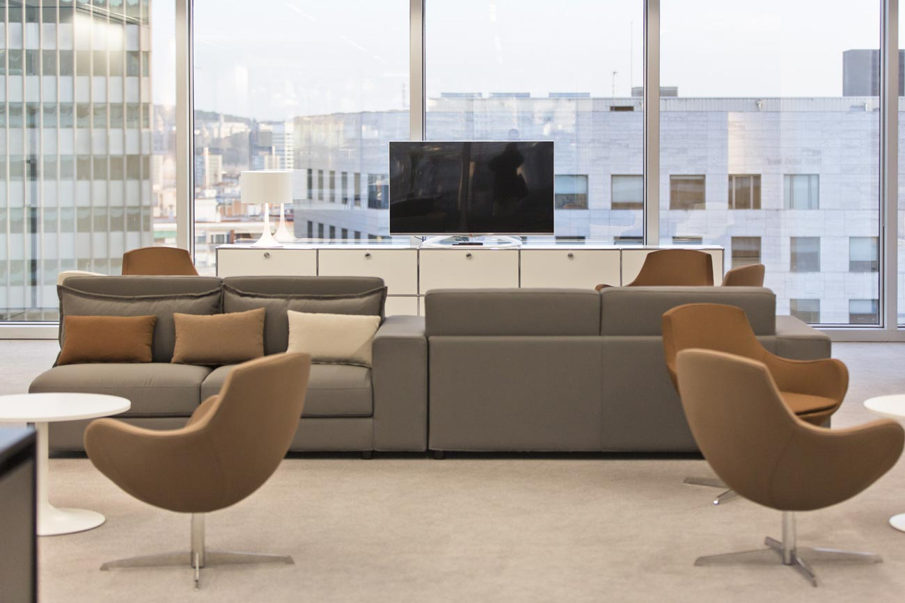 Möbel für Business-Center und Büromöbel