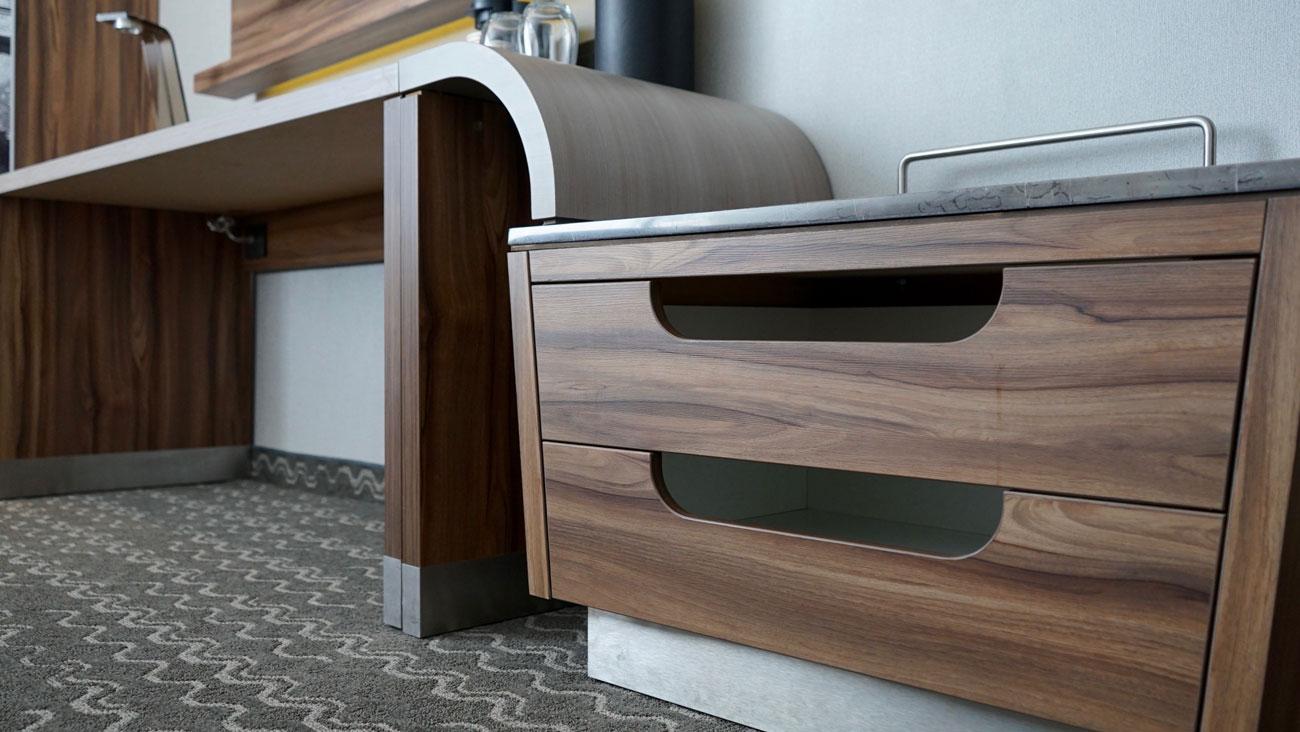 Möbel für Hotelzimmer